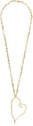 Goossens x Harumi Klossowska de Rola heart snake necklace