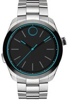 Movado 44mm Bold Motion Smart Watch, Silver