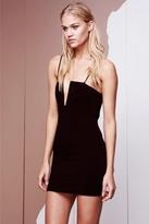 Style Stalker Analog Strapless Dress in Black