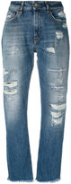 Cycle distressed straight jeans - women - Cotton - 26