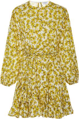 Rhode Resort Ella Floral-Print Cotton-Poplin Mini Dress
