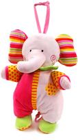Pink Star Shine Elephant Pull-String Toy