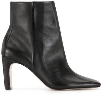 Schutz Square Toe Boots
