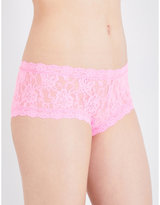 Hanky Panky Ladies Iconic Signature Stretch-lace Boyshort Briefs