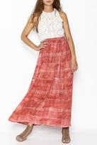 Hummingbird Crochet Maxi Dress