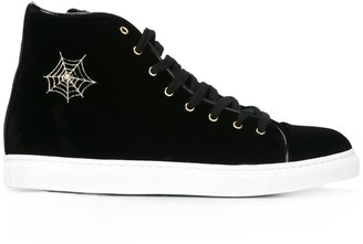 Charlotte Olympia 'Purrfect' hi-top sneakers