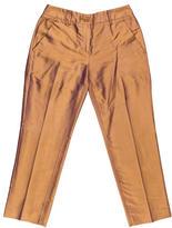Etro Iridescent Silk Pants