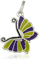 The Sak Purple Butterfly Charm