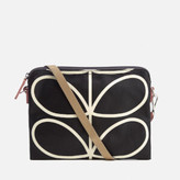 Orla Kiely Women's Stem Travel Pouch - Black
