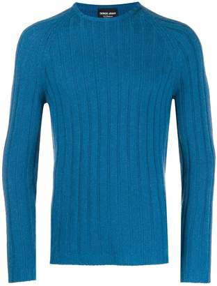 Giorgio Armani ribbed sweater