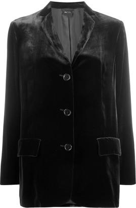 Aspesi Velvet Oversized Blazer