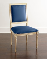 Horchow Massoud Ingram Leather Dining Chair, B2