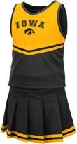 Colosseum Girls Toddler Black Iowa Hawkeyes Pinky Cheer Dress