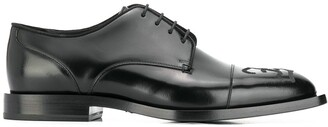 Fendi double F Derby shoes