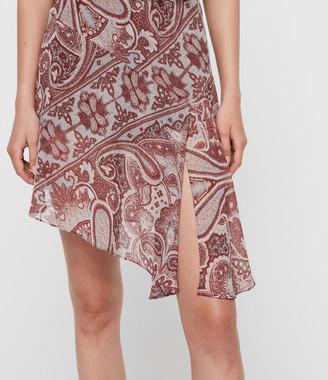 AllSaints Giulia Scarf Dress