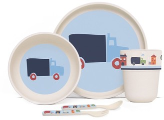Penny Scallan Big City Bamboo Kids Meal Set with Cutlery