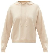 Allude Drawstring Wool-blend Hooded Sweater - Womens - Beige
