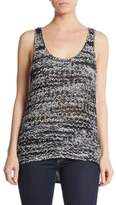 360 Sweater Olive Knit Tank Top