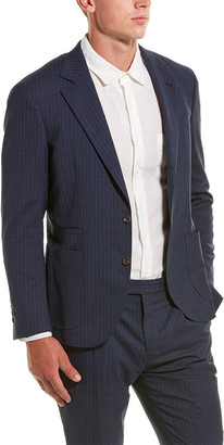 Brunello Cucinelli 2Pc Wool-Blend Suit