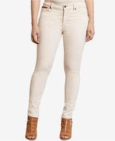 Lauren Ralph Lauren Plus Size Premier Archive Wash Skinny Ankle Jeans