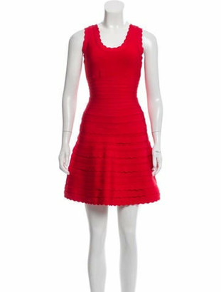 Herve Leger Jules Mini Dress