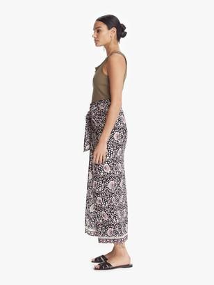 Natalie Martin Talia Skirt - Vintage Flowers Midnight