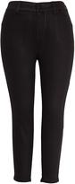 Melissa McCarthy Black Skinny Jeans - Plus