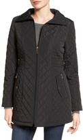 Gallery Women's Side Tab Quilted Coat