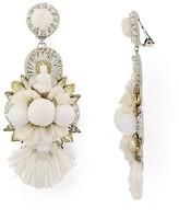 Ranjana Khan Embellished Petal Clip-On Earrings