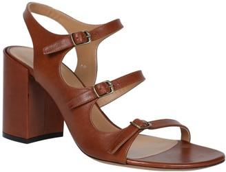 Dries Van Noten Brown Multi-strap High Leather Sandals