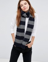 Hat Attack Chunky Stripe Scarf