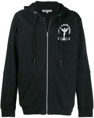 Mcq Swallow Free Your Soul hoodie