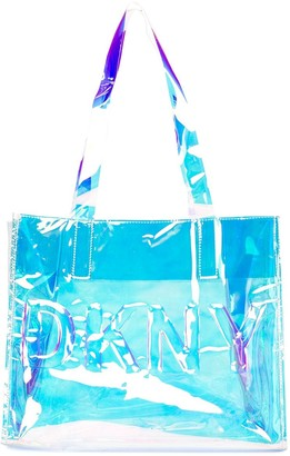 DKNY Clear Logo Bag