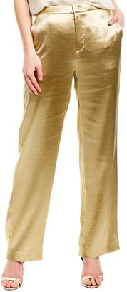 Vince Metallic Wide Leg Pant