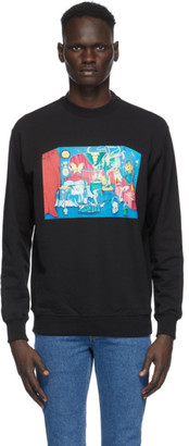 Opening Ceremony Black Room Print Sweatshirt