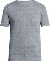 Massimo Alba Alicudi striped linen T-shirt