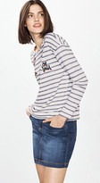 Esprit Comic patch sweatshirt, blended cotton