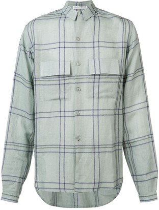 Denis Colomb Check Button-Up Shirt