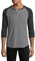 Alternative Apparel Eco Jersey Baseball Henley Shirt