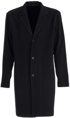 Issey Miyake Homme Plissé Homme Plisse Coat 3 Buttons