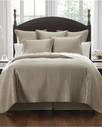 Waterford Crystal Quilt Taupe Quilt