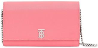 Burberry TB motif chain wallet