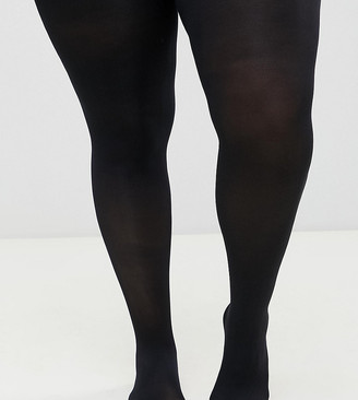 ASOS DESIGN Curve 80 denier black tights