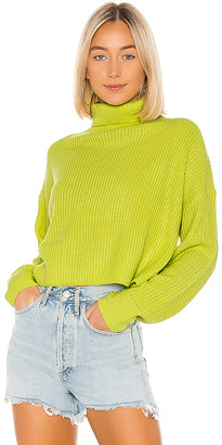 superdown Lacy Turtleneck Sweater