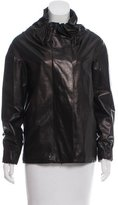 Marni Leather Zip-Up Jacket