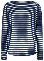Fat Face Breton Stripe Long Sleeve T-Shirt
