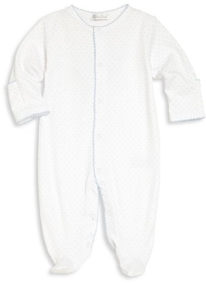 Kissy Kissy Baby Boy's Polka Dot Pima Cotton Footie