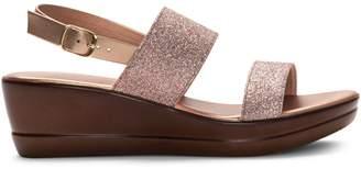 Italian Shoemakers Glitter Strap Sandals