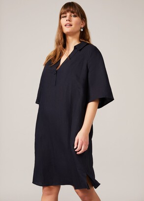 Phase Eight Drew Linen Shirt Dress