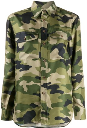 Polo Ralph Lauren Camouflage-Print Shirt